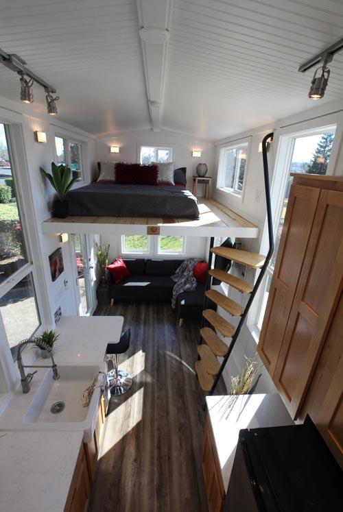 Tiny Home Interior - Chinook Peak by Tiny Mountain Houses