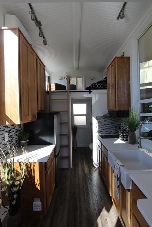 Kitchen - Chinook Peak by Tiny Mountain Houses