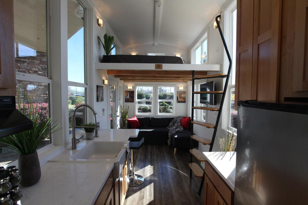 Living Area - Chinook Peak by Tiny Mountain Houses