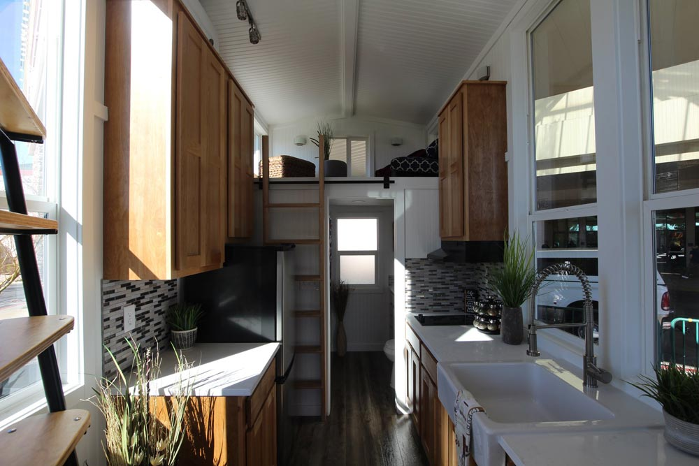 Galley Kitchen - Chinook Peak by Tiny Mountain Houses