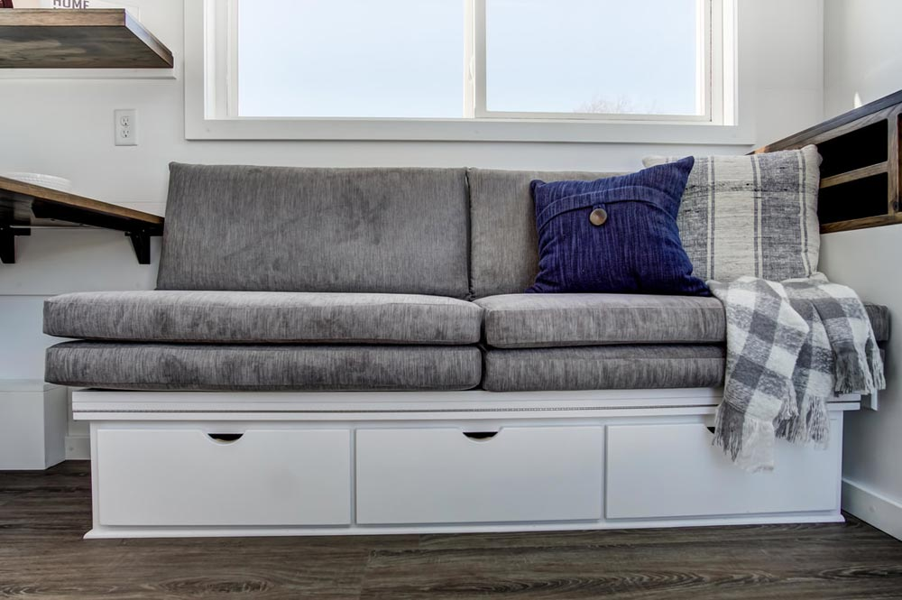 Couch Storage - Cocoa by Modern Tiny Living