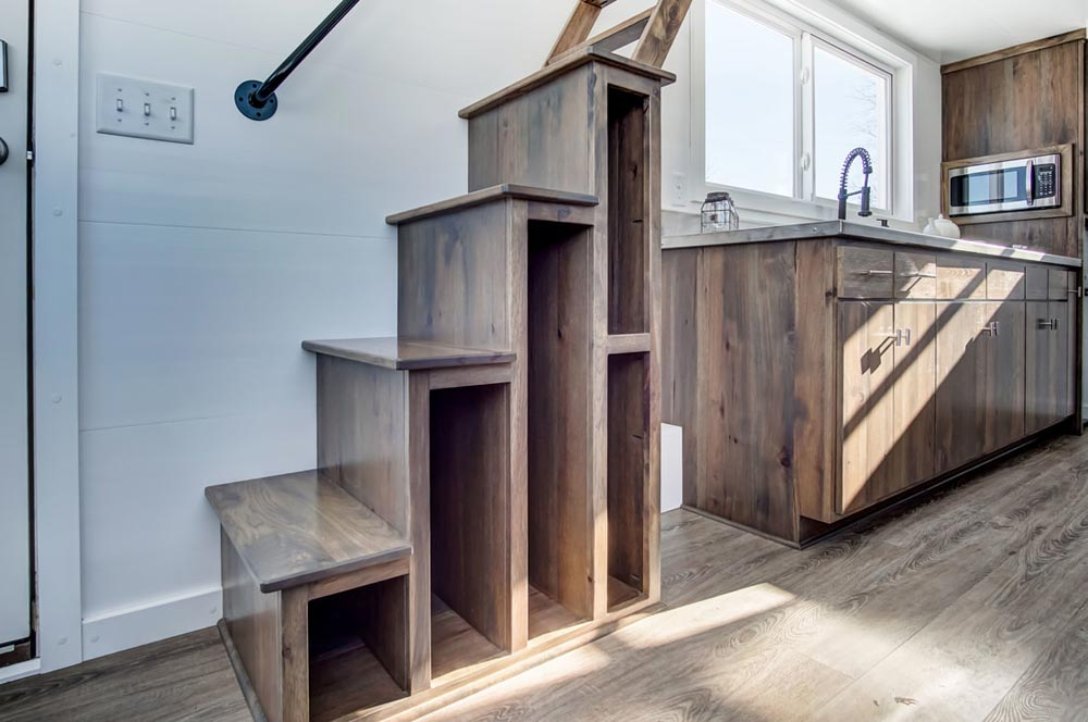 Storage Stairs - Cocoa by Modern Tiny Living