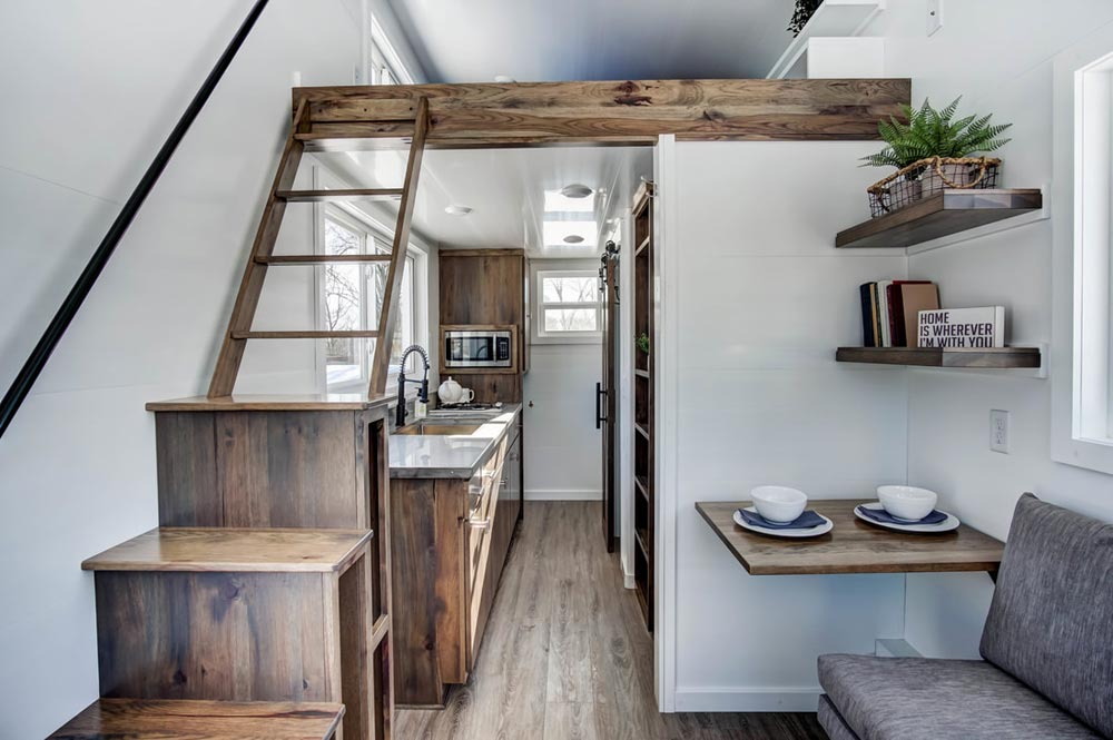 Tiny House Interior - Cocoa by Modern Tiny Living