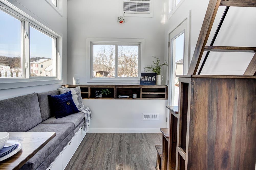 Living Room Shelves - Cocoa by Modern Tiny Living