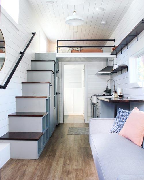 Tiny House Interior - Everest by Mustard Seed Tiny Homes