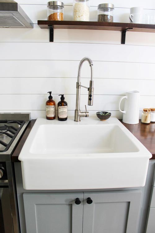 Kitchen Sink - Everest by Mustard Seed Tiny Homes