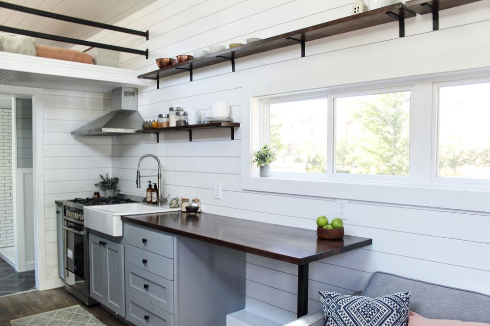 Kitchen Counter - Everest by Mustard Seed Tiny Homes