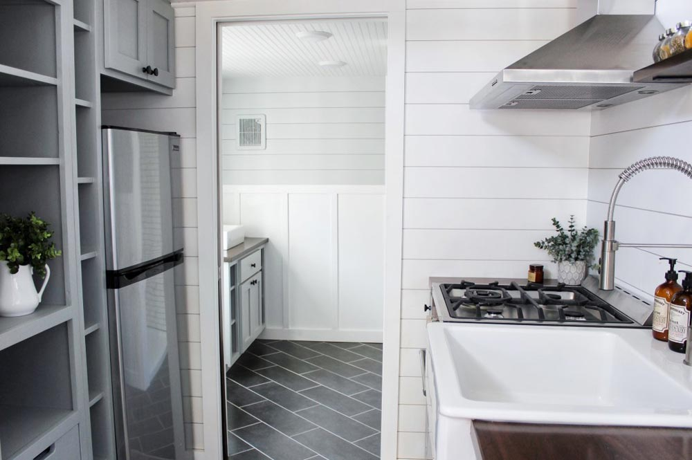 Kitchen & Bathroom - Everest by Mustard Seed Tiny Homes