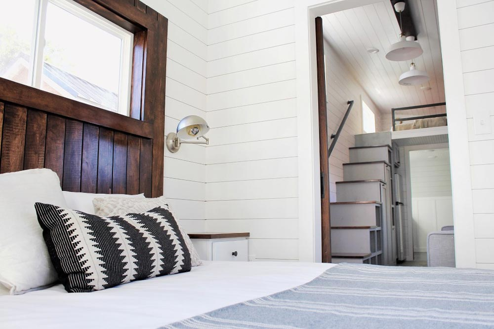 Main Floor Bedroom - Everest by Mustard Seed Tiny Homes
