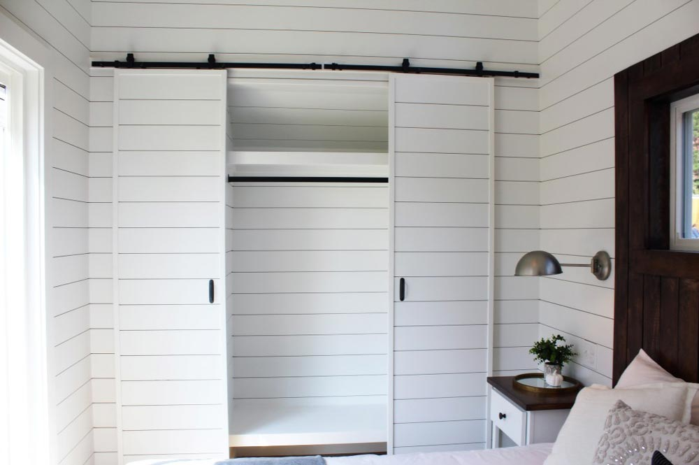 Bedroom Closet - Everest by Mustard Seed Tiny Homes