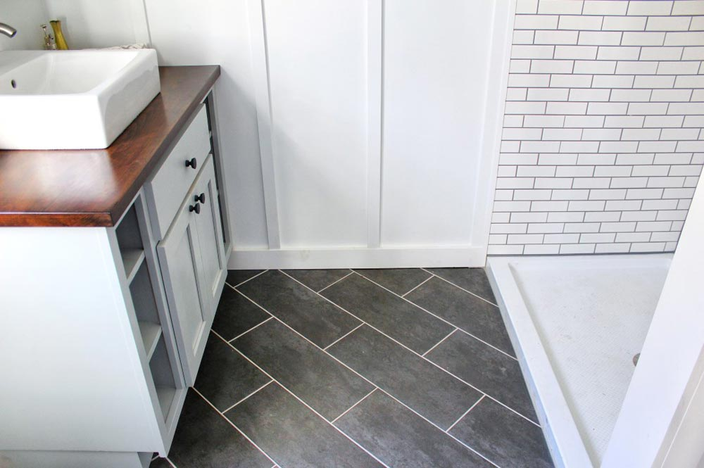 Bathroom Tile - Everest by Mustard Seed Tiny Homes