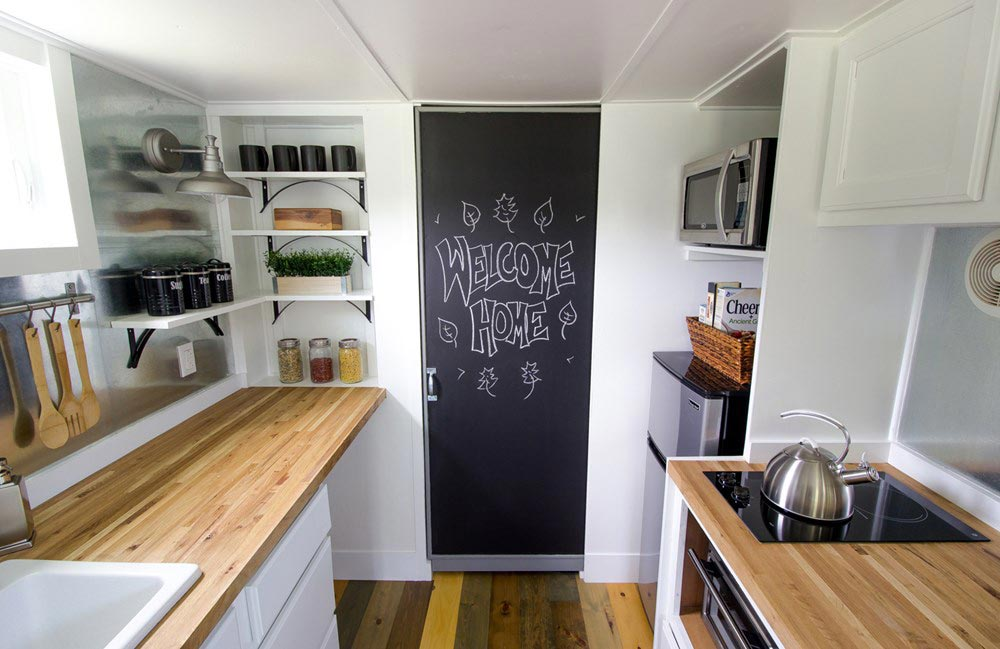 Chalkboard Door - Falling Leaves by Reeds Road Home Design