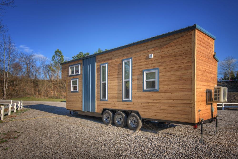 Rear Exterior View - Freedom v2 by Alabama Tiny Homes