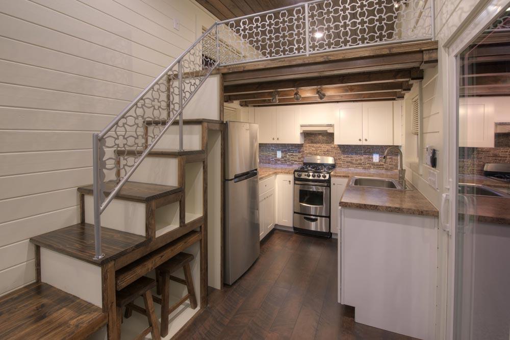 Full Kitchen - Freedom v2 by Alabama Tiny Homes