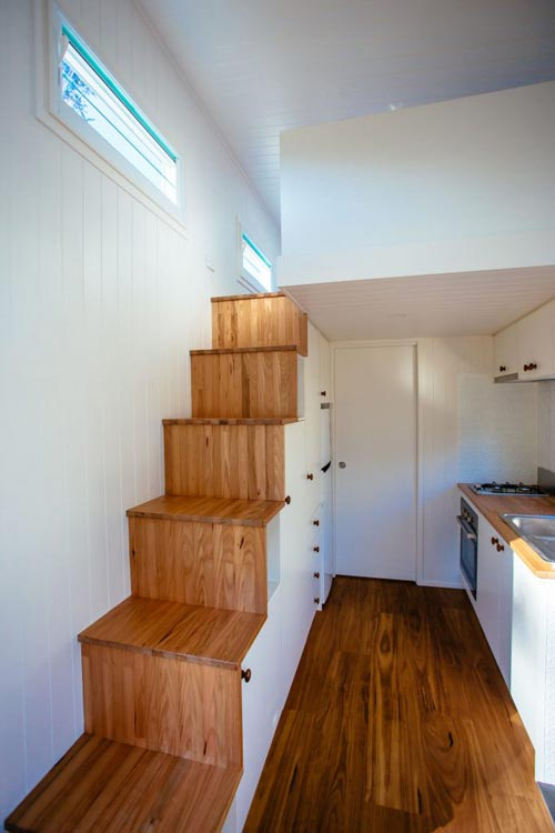 Wood Stairs - Graduate Series 6000DLS by Designer Eco Homes