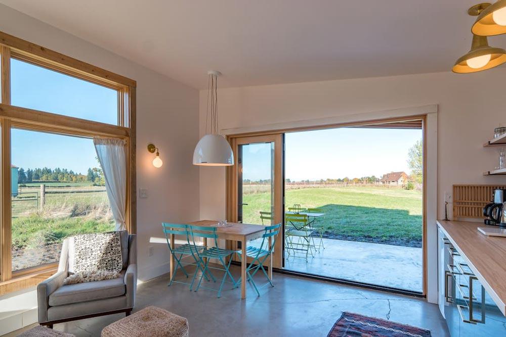 Open French Doors - Island Farm Retreat