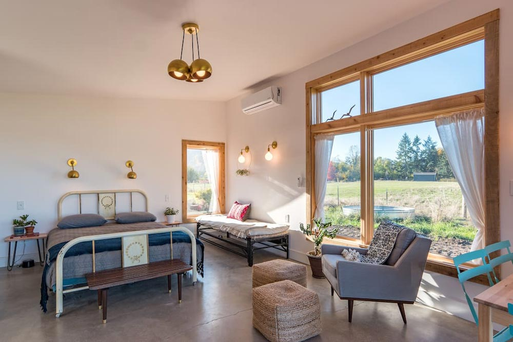 Large Window - Island Farm Retreat