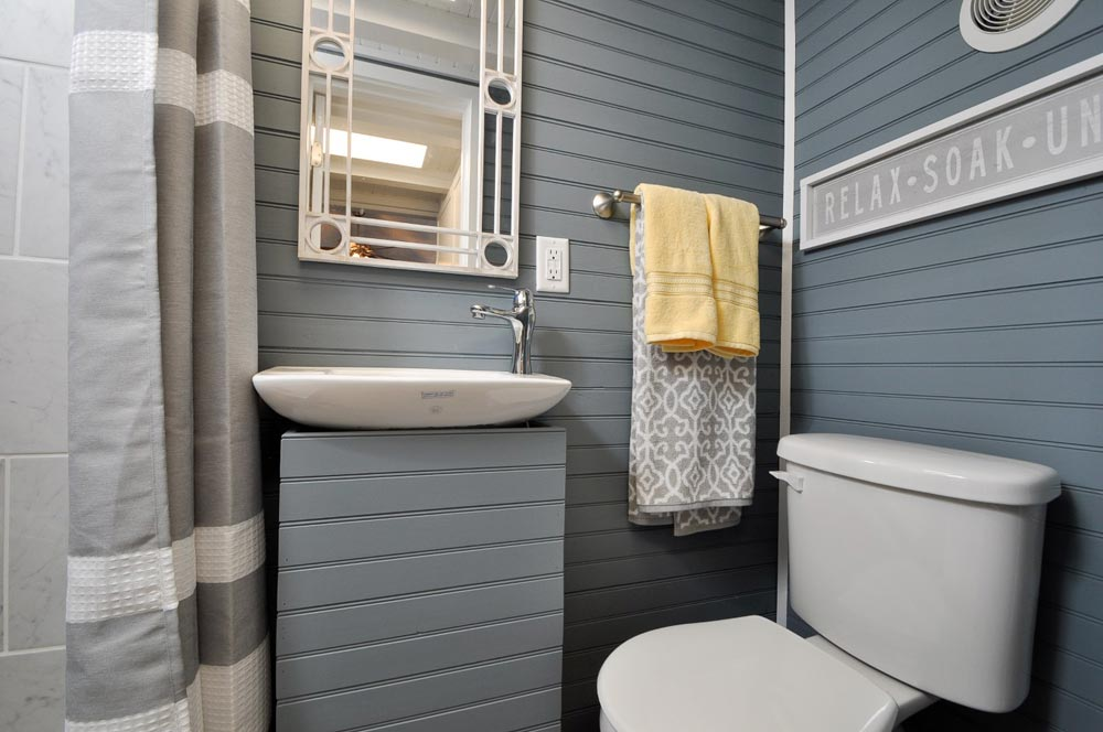 Bathroom - Laurel by Tiny House Building Company