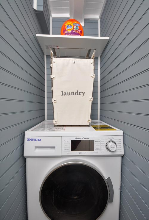 Laundry Room - Laurel by Tiny House Building Company