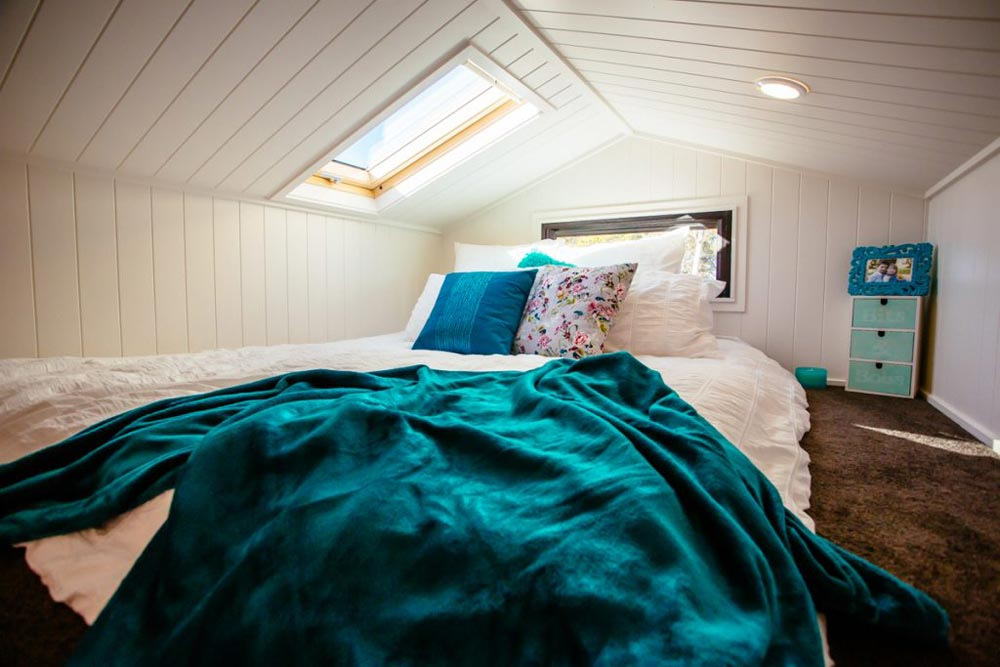 Bedroom Loft w/ Skylight - Lifestyle Series 7200GB by Designer Eco Homes