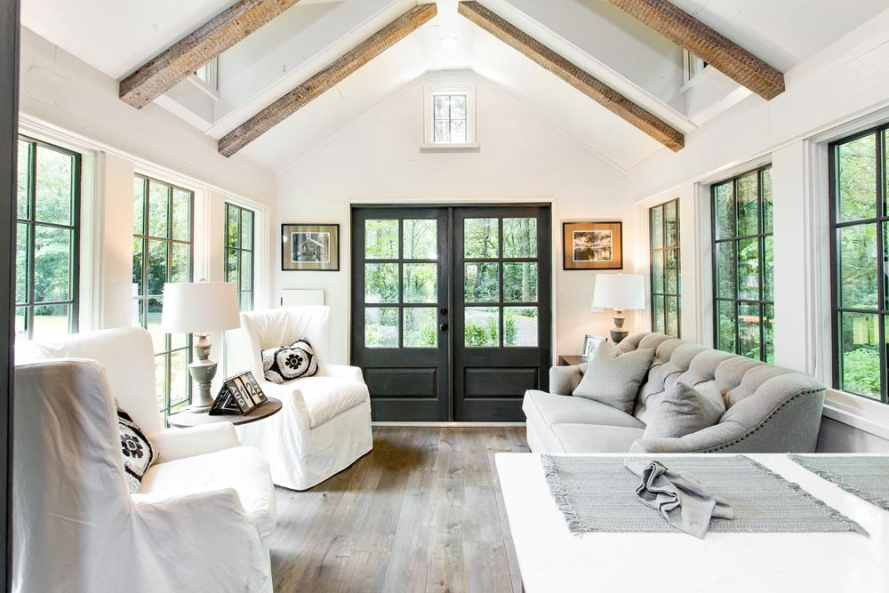 Vaulted Ceilings - Low Country by Designer Cottages