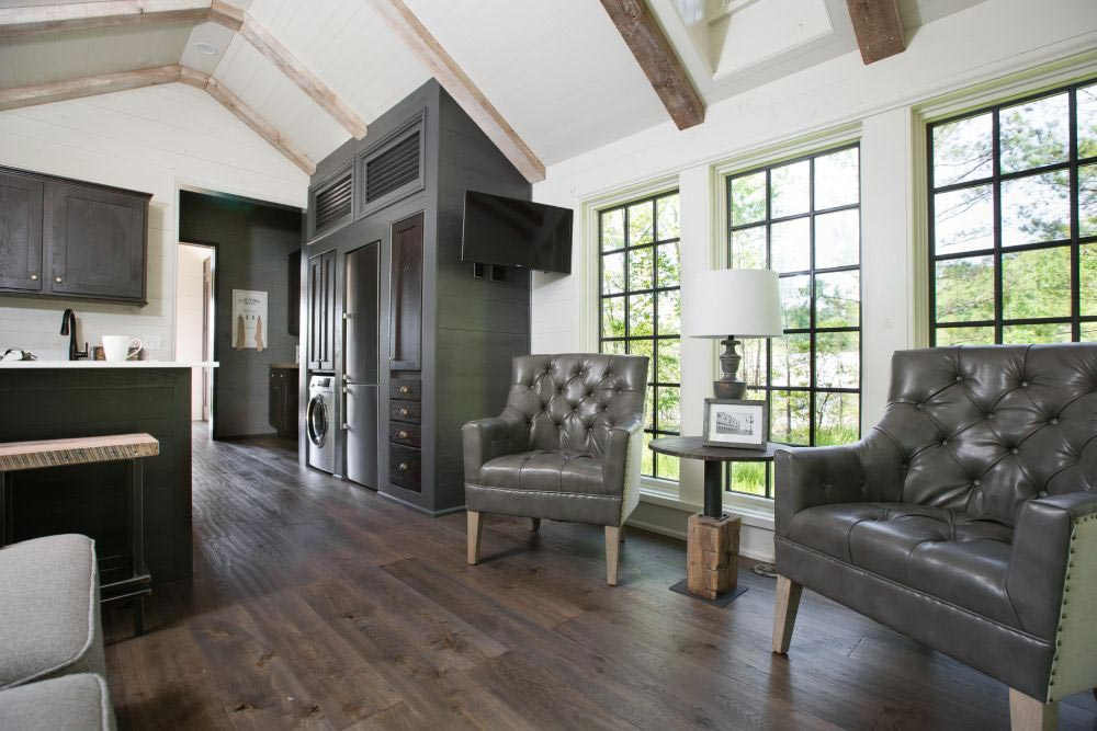 Exposed Beams - Low Country by Clayton Tiny Homes