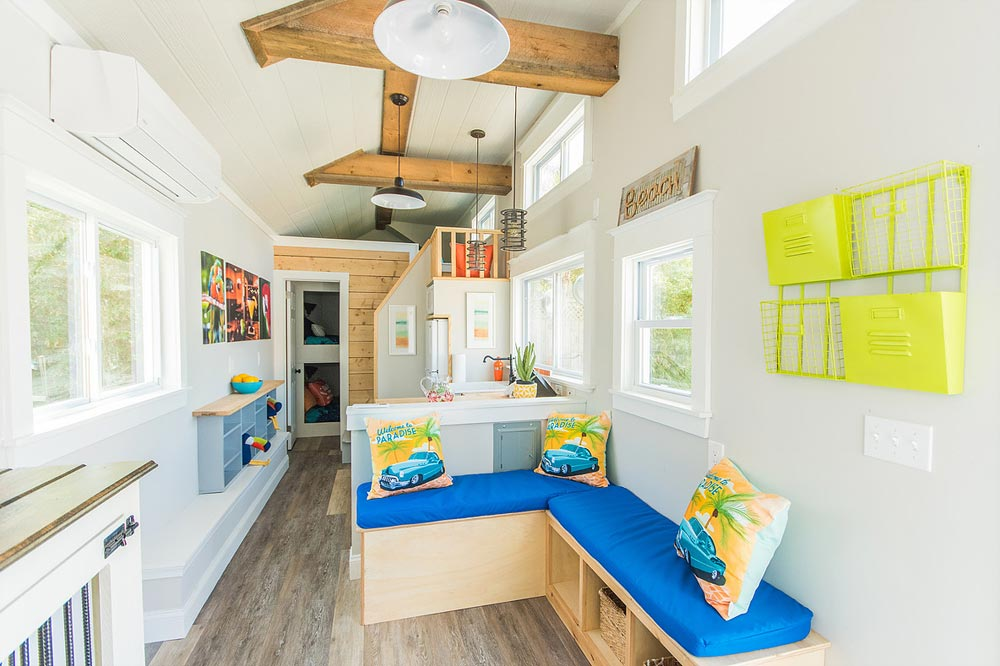 Exposed Beams - Margarita at Tiny House Siesta
