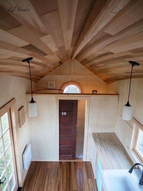 Arched Cedar Ceiling - Mura by Zyl Vardos