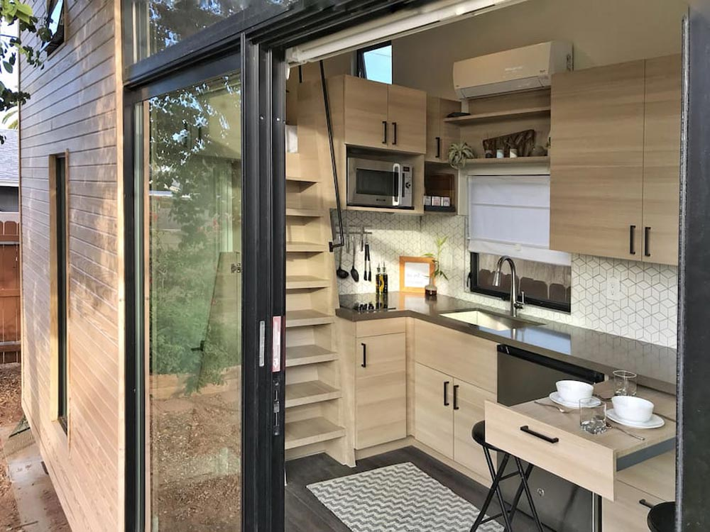 Sliding Glass Door - Nest Tiny House