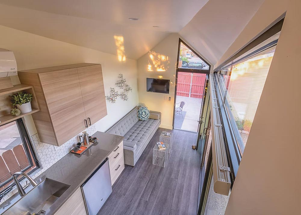 Living Area - Nest Tiny House