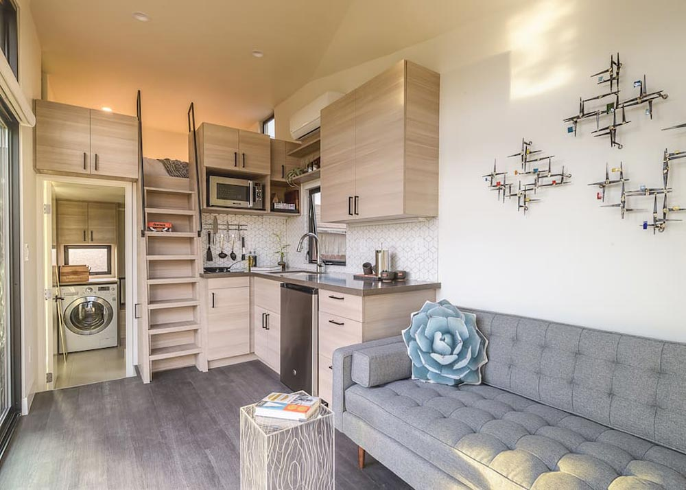 Kitchen & Loft - Nest Tiny House