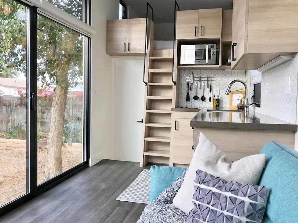Loft Ladder - Nest Tiny House