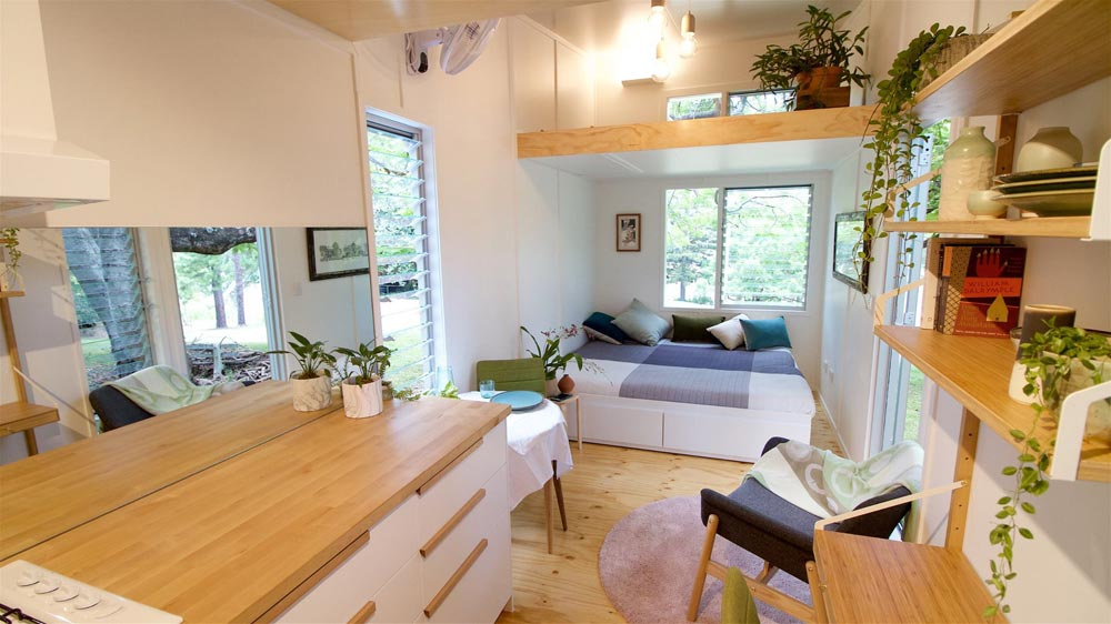 Living Room - Swallowtail by The Tiny House Company
