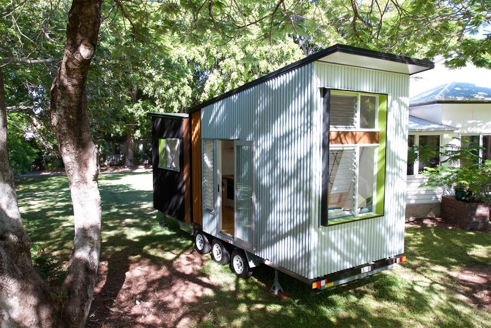 Butterfly Roof - Swallowtail by The Tiny House Company