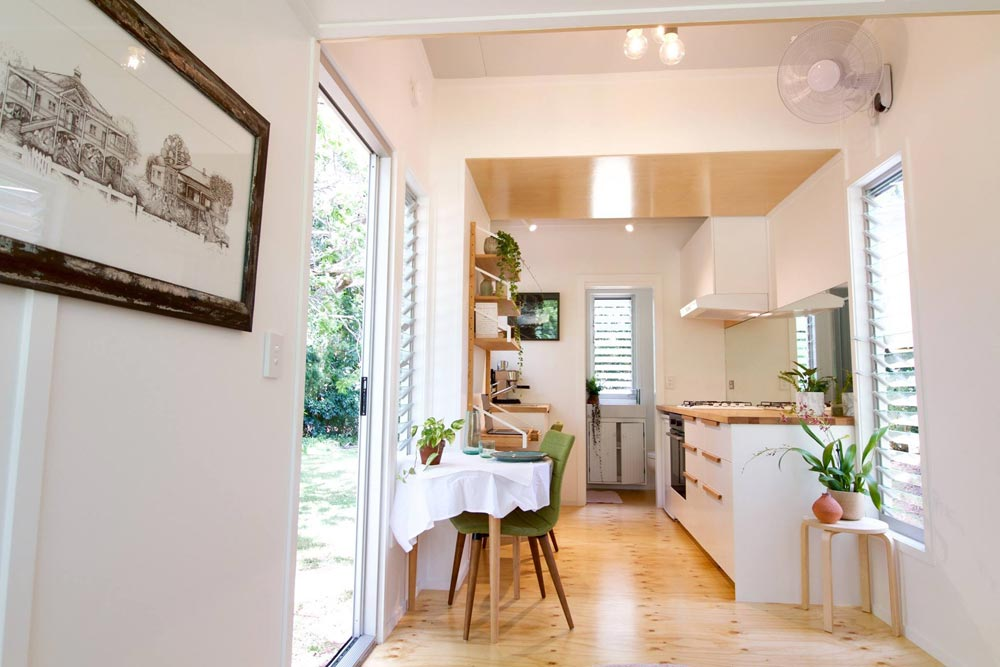 Kitchen & Bathroom - Swallowtail by The Tiny House Company