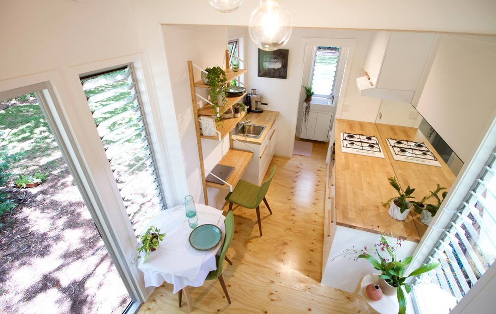 Aerial View - Swallowtail by The Tiny House Company