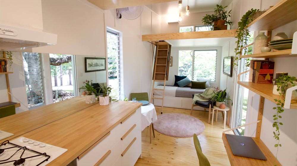 Kitchen Counter - Swallowtail by The Tiny House Company