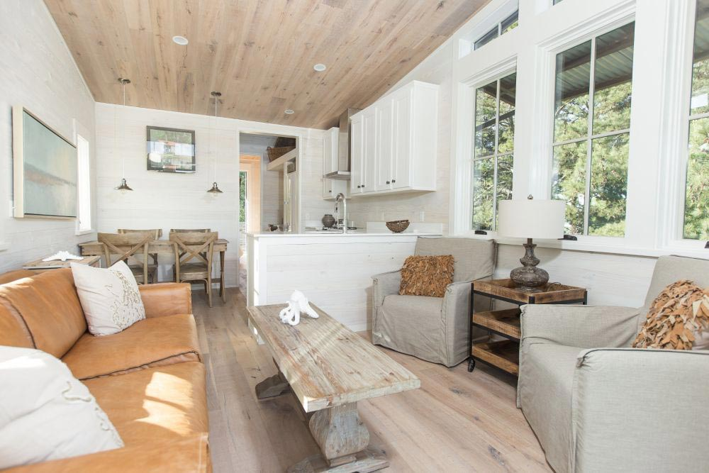 Living Area - Saltbox by Clayton Tiny Homes