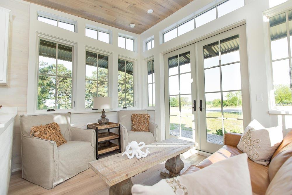 Lots of Natural Light - Saltbox by Designer Cottages
