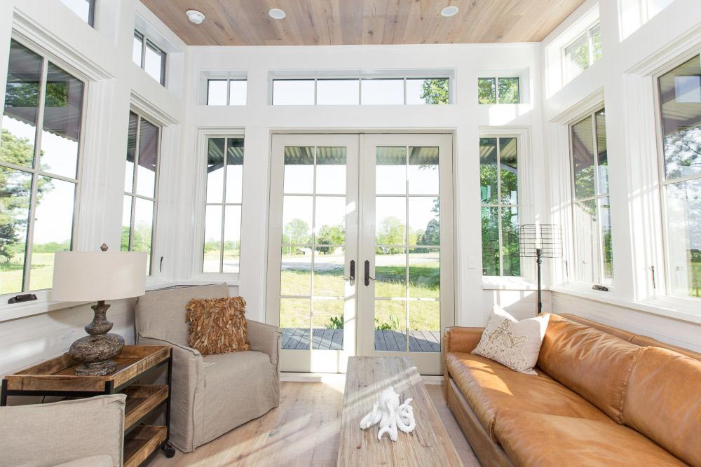 French Doors - Saltbox by Designer Cottages