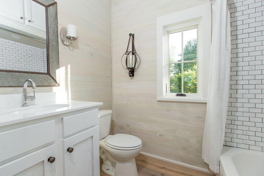 Bathroom - Saltbox by Designer Cottages