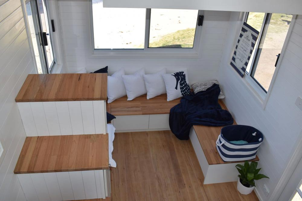Built-In Bench - Graduate Series 6000DL Seaside by Designer Eco Homes
