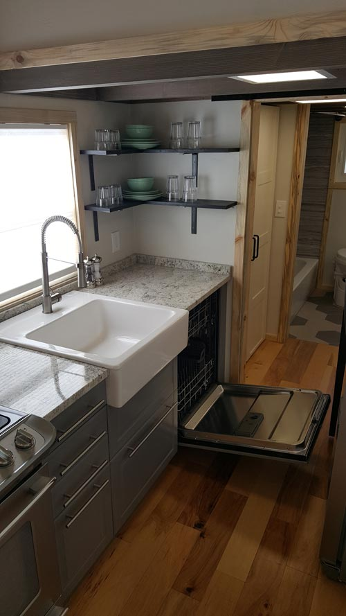 Kitchen - Tiny Solar Home by Alpine Tiny Homes