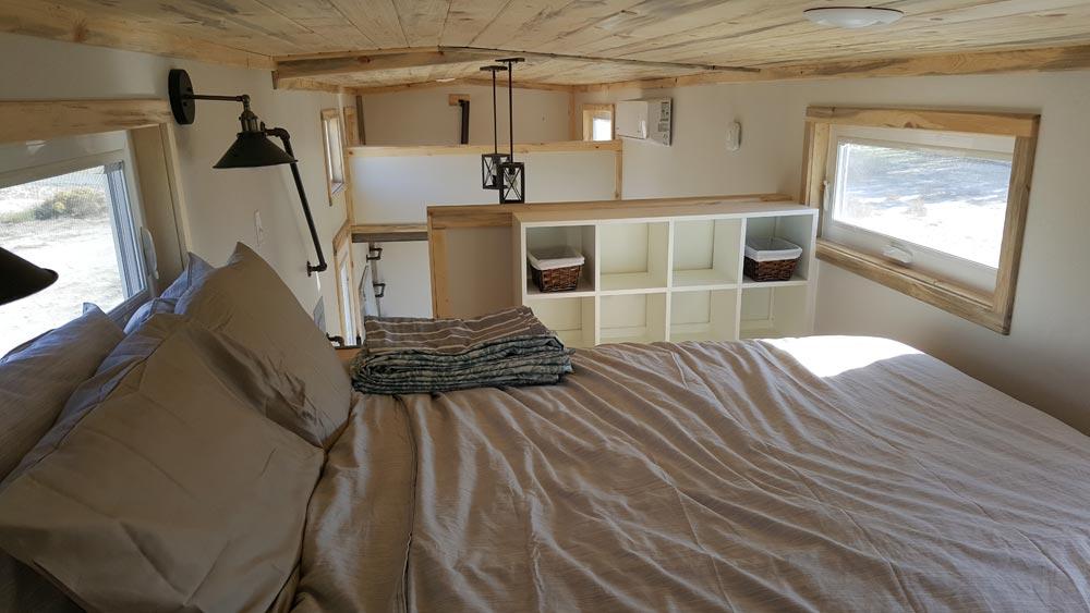 Bedroom Loft - Tiny Solar Home by Alpine Tiny Homes