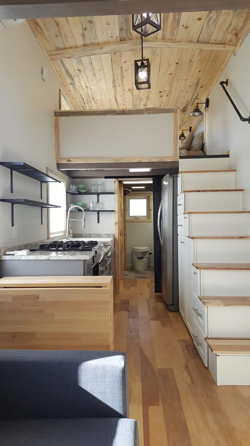 Tiny House Interior - Tiny Solar Home by Alpine Tiny Homes