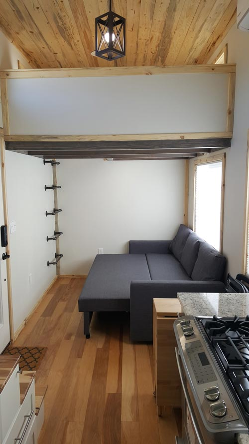 Living Room - Tiny Solar Home by Alpine Tiny Homes