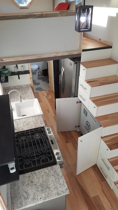 Humless Battery Bank - Tiny Solar Home by Alpine Tiny Homes