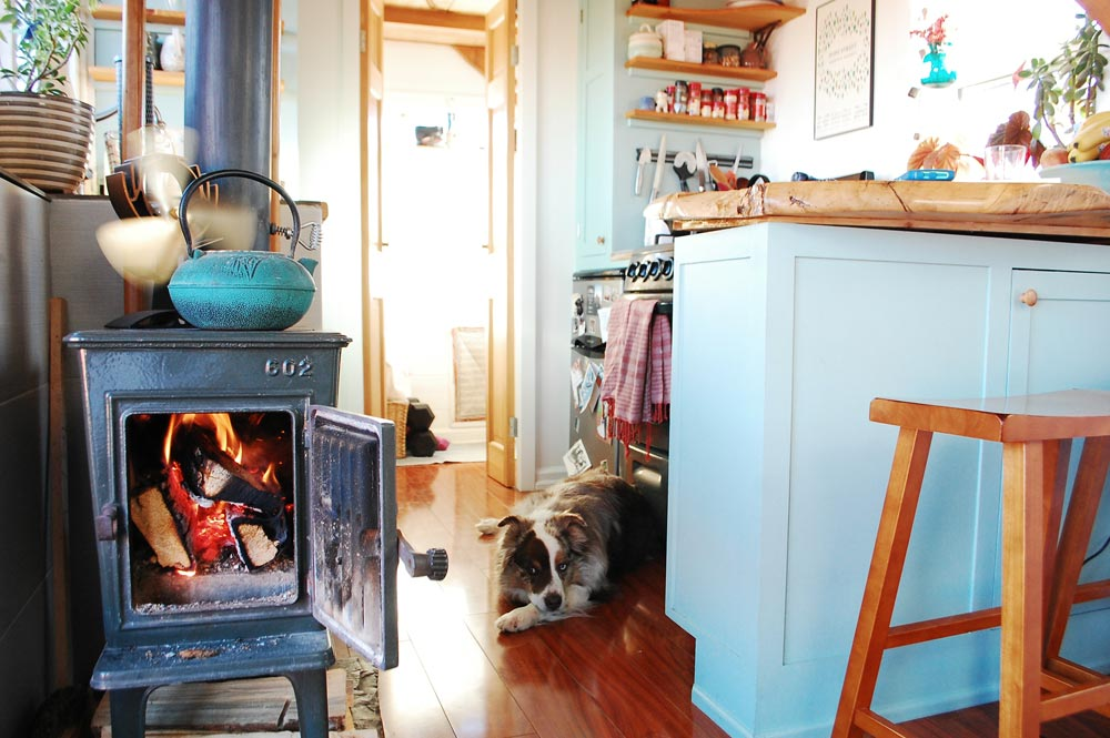 Wood Stove - Tiny Timber House