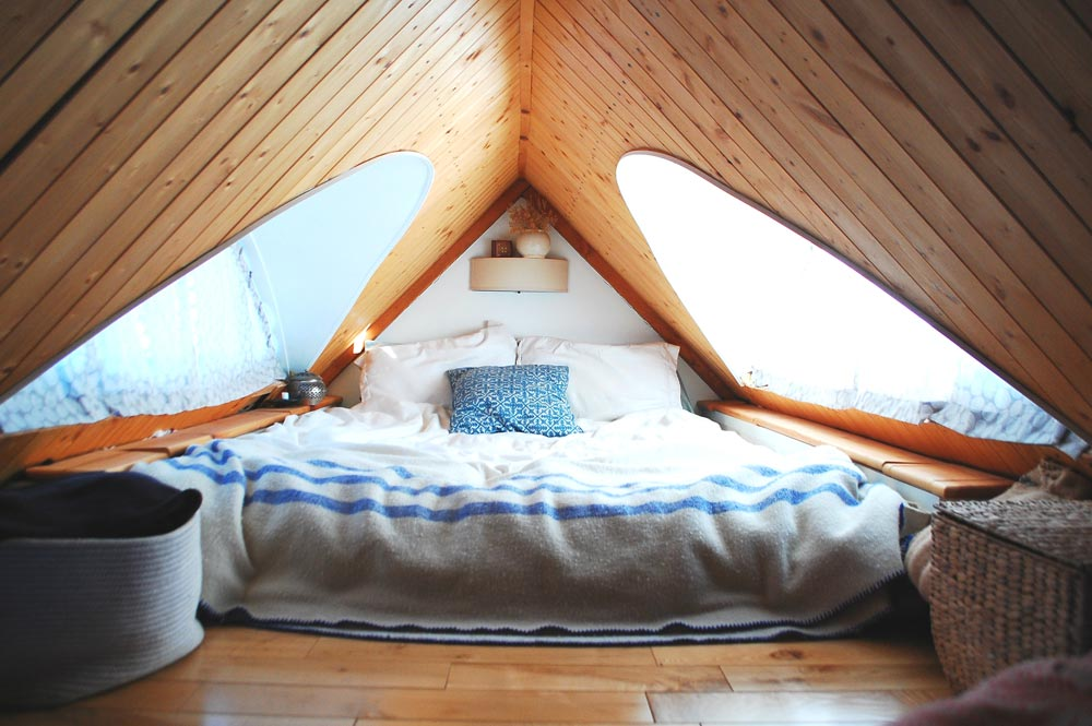 Bedroom Loft - Tiny Timber House