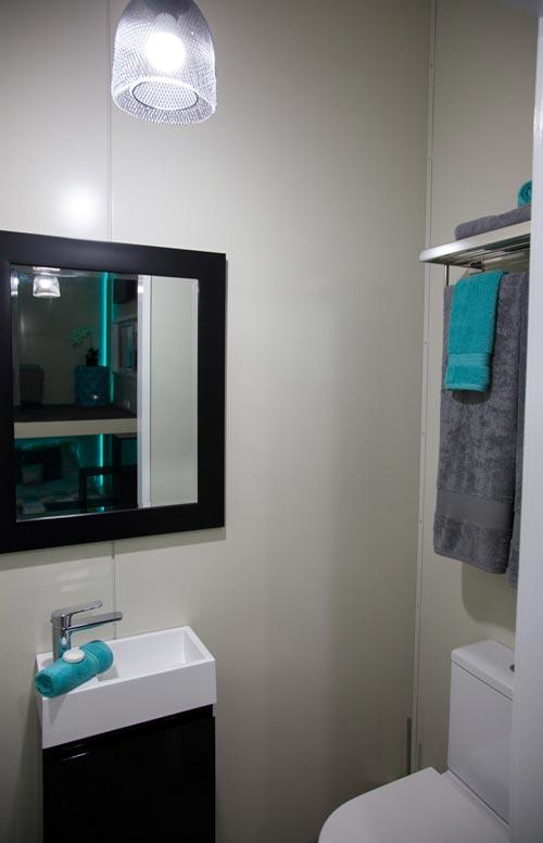 Bathroom - Custom Tiny by Absolute Tiny Houses NZ
